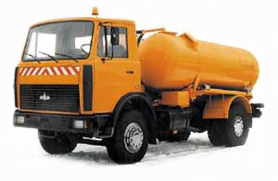 Вакуумная машина КО 523 на шасси МАЗ-533702