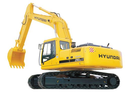 Экскаватор гусеничный Hyundai R290LC-7A