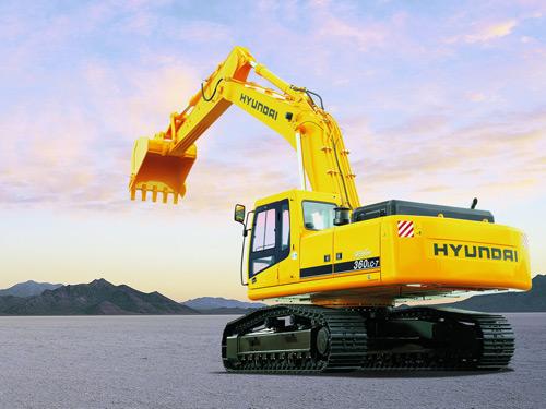 Экскаватор гусеничный Hyundai R360LC-7А