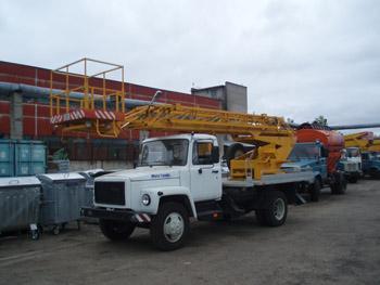 Автогидроподъемник АП-18-09 на шасси ГАЗ-3309