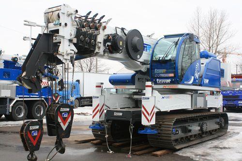 Автокран TCM (Италия) Гусеничный кран ТСМ RTC 70 Crawler