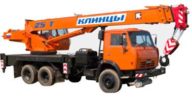 Автокран КС-55713-5К Клинцы на шасси КамАЗ 43118