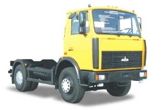 Шасси 4х2 МАЗ 5551А2-340