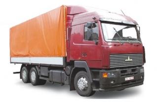 Фургон бортовой 6х4 МАЗ-6312