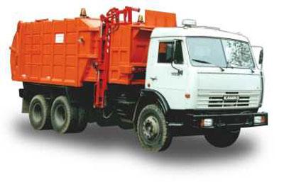 Мусоровоз МКМ-45 (МКМ-4704) на шасси КАМАЗ 65115-1071