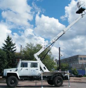 Автогидроподъемник АГП-14 (B-Lift 150) на шасси ГАЗ-33081