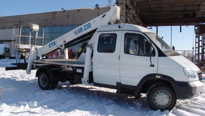 Автогидроподъемник АГП-22 (B-lift230) на шасси ГАЗ-33106