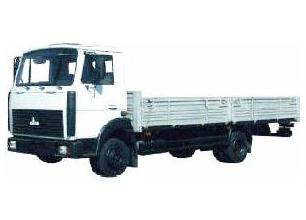 Фургон бортовой 4х2 МАЗ 4370