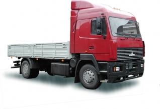 Фургон бортовой 4х2 МАЗ-5340