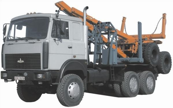 Лесовоз МАЗ-641708-220
