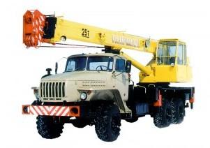Автокран КС 55713-3 Галичанин на шасси Урал-4320