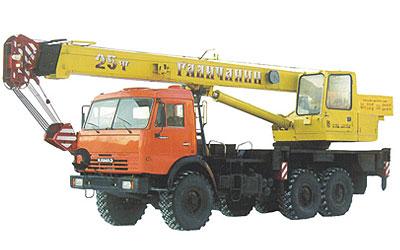 Автокран КС-55713-5 Галичанин