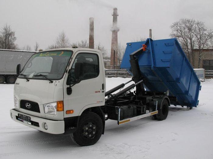 Мультилифт АС-4HD на базе шасси Hyundai Kuzbass HD78