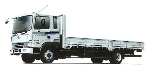Фургон бортовой 4х2 Hyundai HD 170