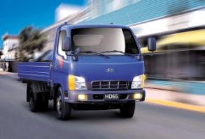 Фургон бортовой 4х2 Hyundai HD 65