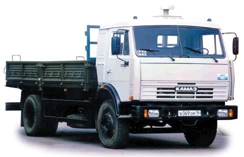 Фургон бортовой 4х2 Камаз 43253