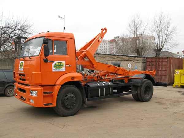 Мультилифт АС-9 (63370С) на шасси КАМАЗ 43253