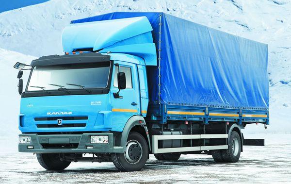 Фургон бортовой 4х2 КАМАЗ 5308