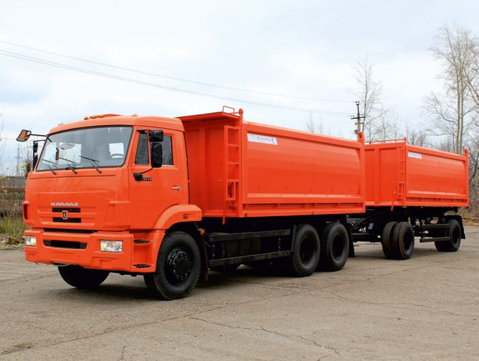 Автокран КС 55713-3К Клинцы на шасси УРАЛ 5557 с гуськом