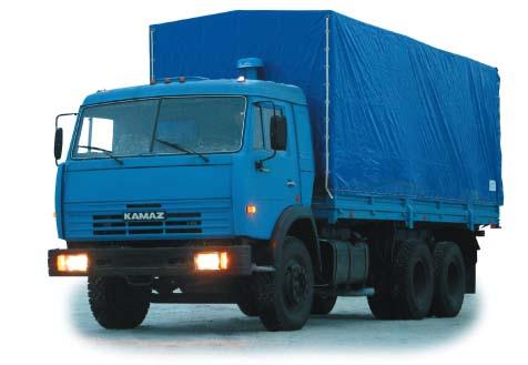 Фургон бортовой 6х4 Камаз 53215