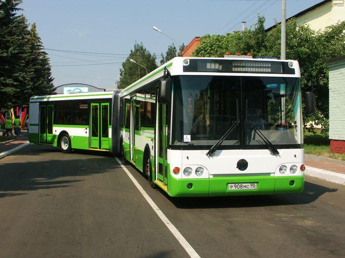 Автобус ЛиАЗ 62132 низкопольный, сочлененный