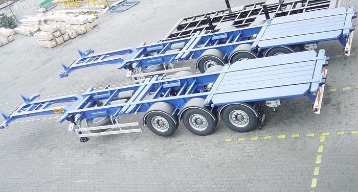 Полуприцеп контейнеровоз Wielton NS34PT40