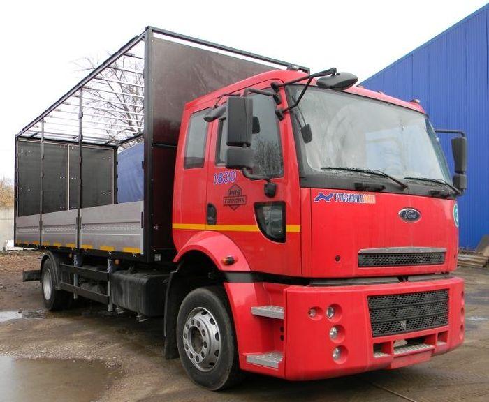 Фургон бортовой 4х2 Ford Cargo
