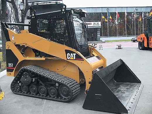 Фронтальный погрузчик Caterpillar 257B Series 2