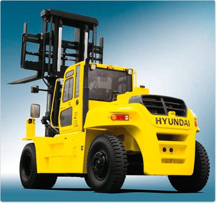 Вилочный погрузчик Hyundai 110D-7E
