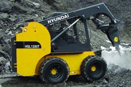 Фронтальный погрузчик Hyundai HSL 1200T