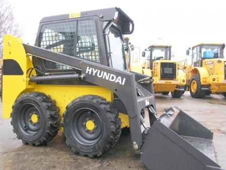 Фронтальный погрузчик Hyundai HSL 500T