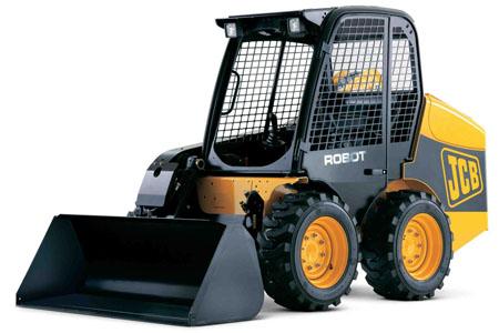Фронтальный погрузчик JCB Robot 160