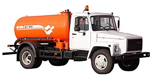 КО-503В-2 - Машина вакуумная (ассенизационная) на шасси ГАЗ