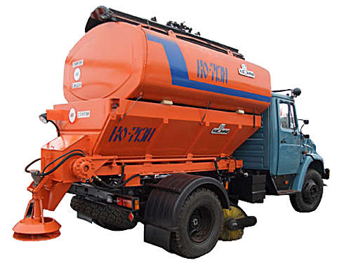 КО-713Н - Комбинированная машина для содержания дорог на шасси ЗИЛ