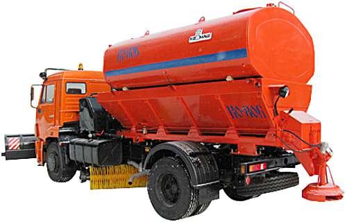 КО-806 - Машина для содержания дорог на шасси КАМАЗ
