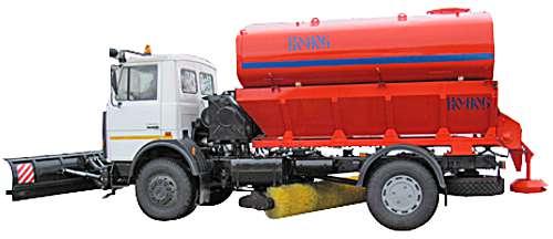 КО-806-20 - Машина для содержания дорог на шасси МАЗ