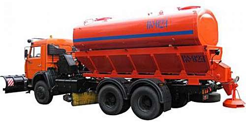 КО-823 - Машина для содержания дорог на шасси КАМАЗ