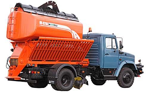 КО-829А - Машина для содержания дорог на шасси ЗИЛ