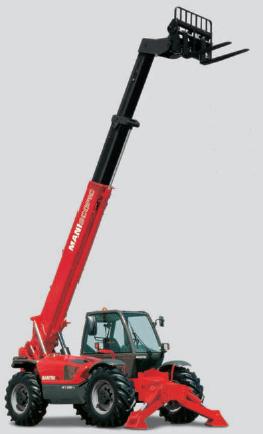 Телескопический погрузчик Manitou MT 1235 S/ST