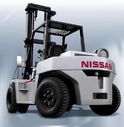 Вилочный погрузчик Nissan FX5-60