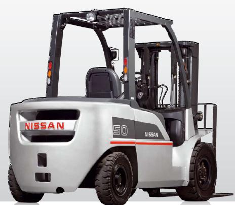 Вилочный погрузчик Nissan GX-35