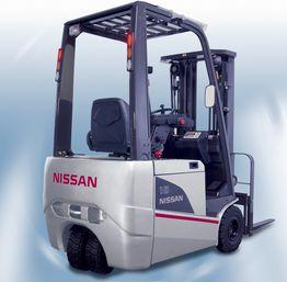 Вилочный погрузчик Nissan Q02L25CU