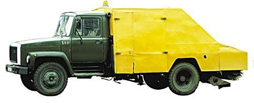 ПУМ-1 - Подметально-уборочная машина на шасси ГАЗ