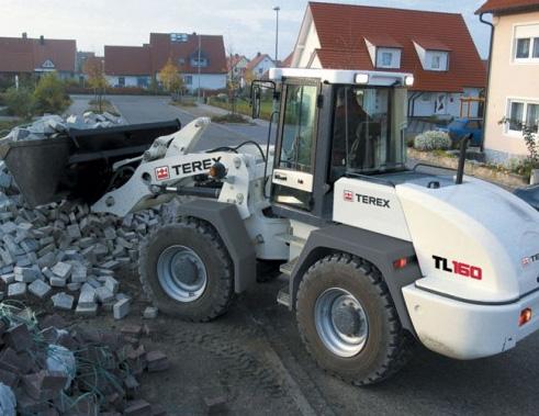 Фронтальный погрузчик Terex TL160